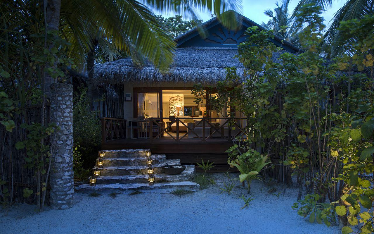 Taj Coral Reef Resort and Spa_Deluxe Beach Villa-Exterior(Twilight)