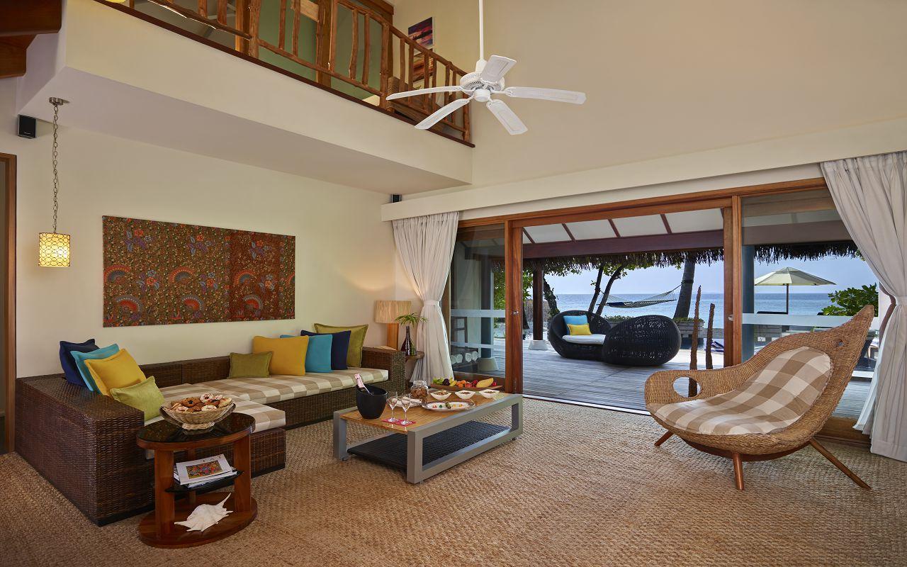 Taj Coral Reef Resort and Spa_Nirvana Presidential Suite-Living Room