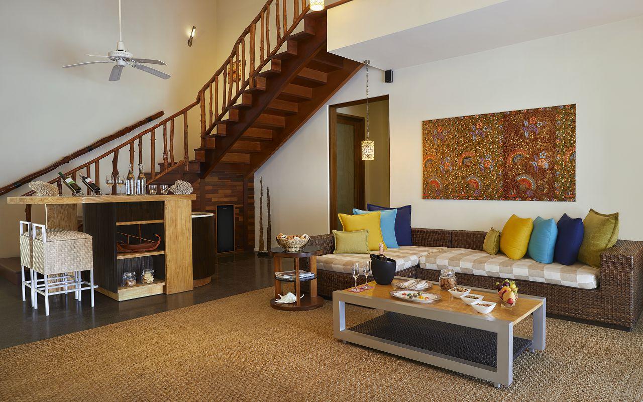 Taj Coral Reef Resort and Spa_Nirvana Presidential Suite-Living Room(1)