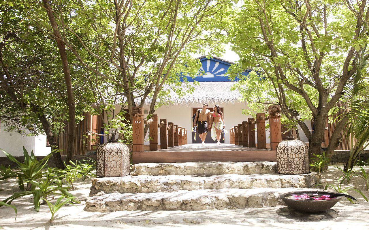 Taj Coral Reef Resort and Spa_Premium Water Villa_Entrance