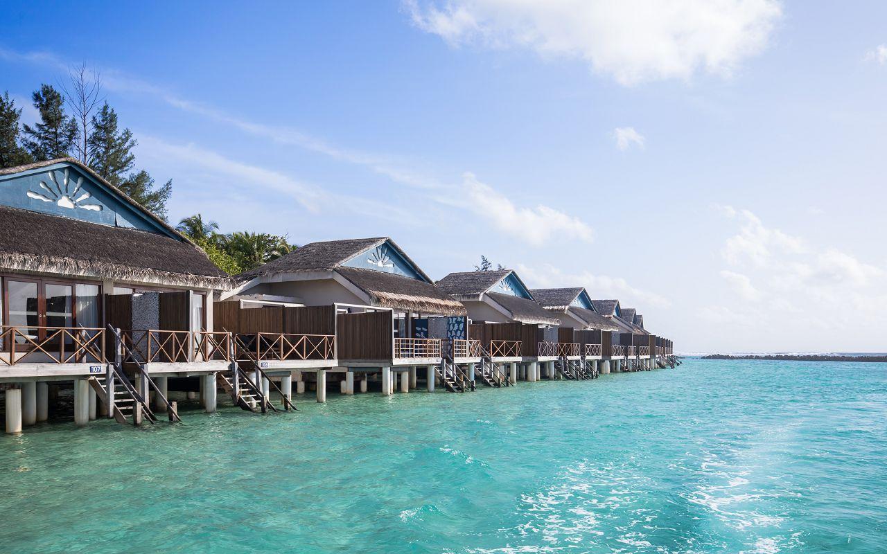 Taj Coral Reef Resort and Spa_Premium Water Villa_Exterior