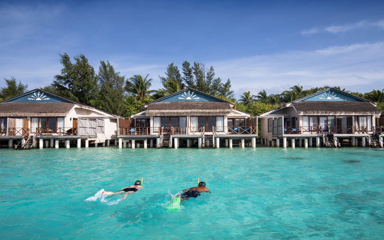 Taj Coral Reef Resort and Spa_Premium Water Villa_Exterior(1)