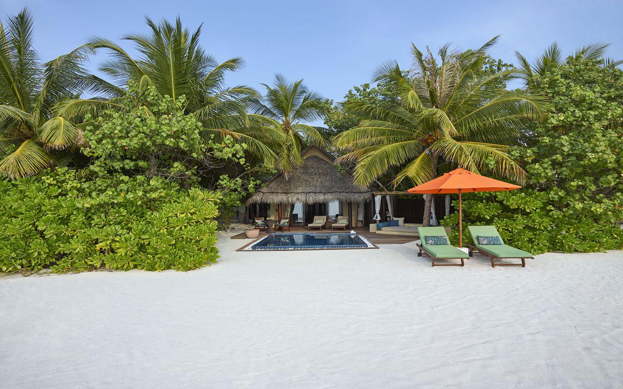 Taj Exotica Resort & Spa Maldives -Deluxe Beach Villa with Pool_Exterior