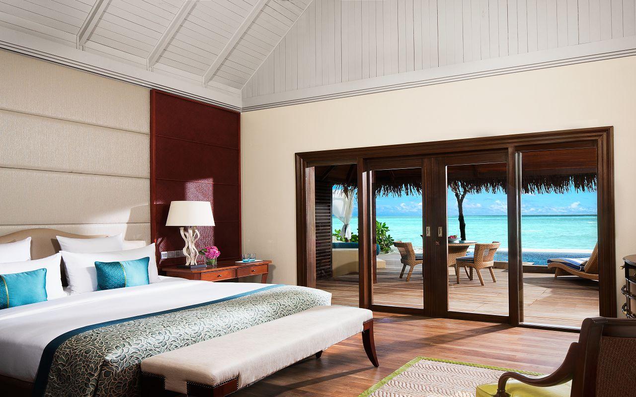 Taj Exotica Resort & Spa Maldives -DeluxeBeachVillawithPool-Bedroom