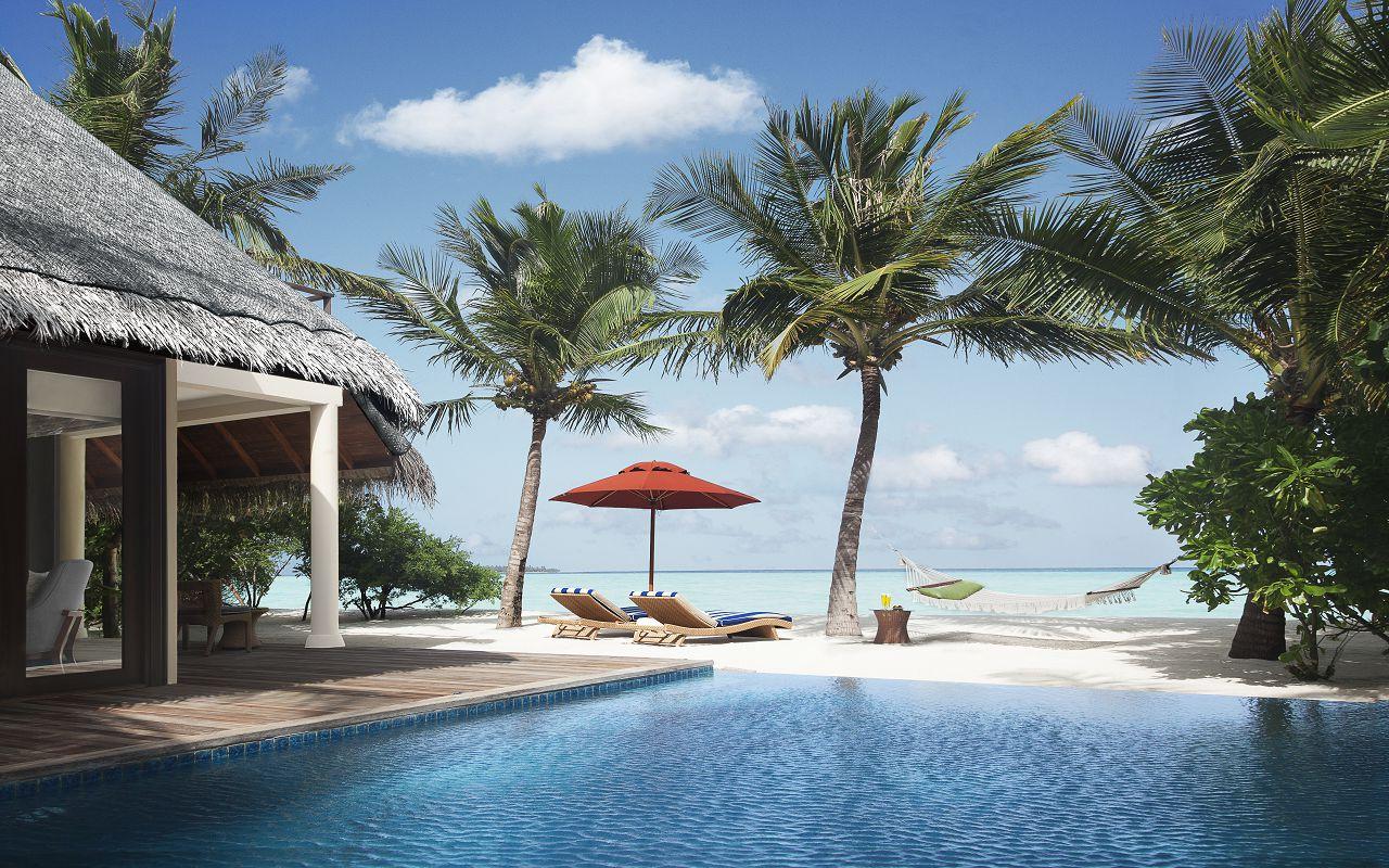 Taj Exotica Resort & Spa Maldives - One Bedroom Beach Suite with Pool_Deck