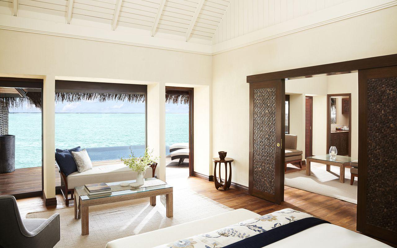 Taj Exotica Resort & Spa Maldives - One Bedroom Ocean Suite with Pool -Bedroom