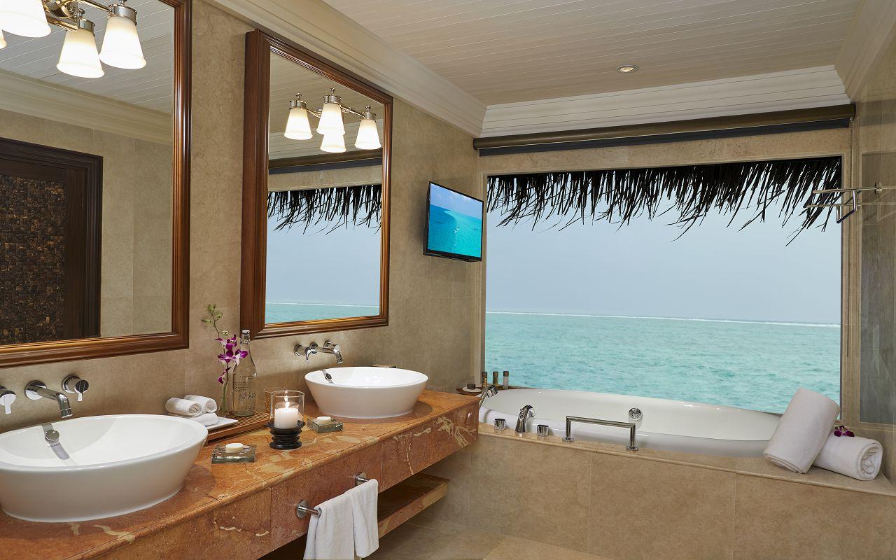 Taj Exotica Resort & Spa Maldives - One Bedroom Ocean Suite with Pool_Bathroom