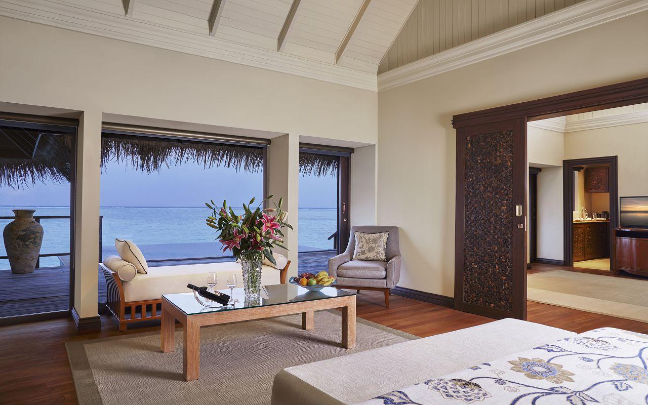 Taj Exotica Resort & Spa Maldives - One Bedroom Ocean Suite with Pool_Bedroom