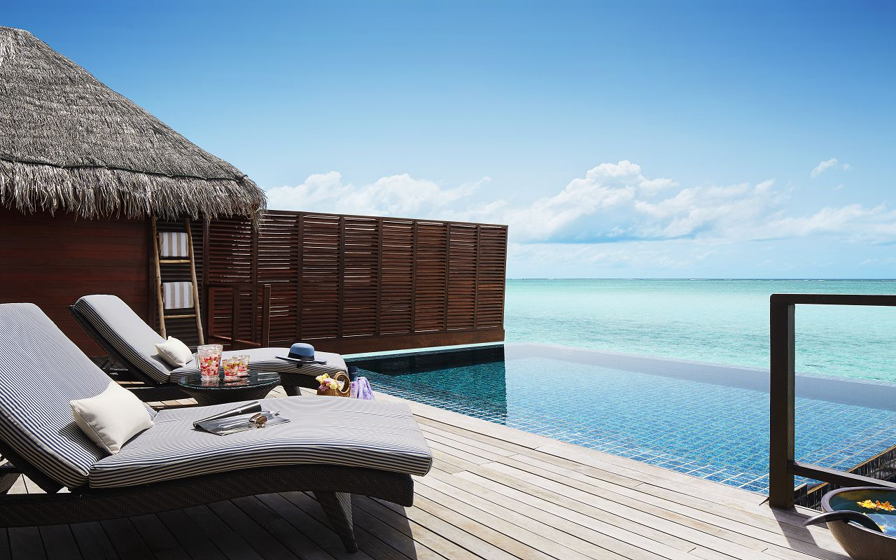 Taj Exotica Resort & Spa Maldives - One Bedroom Ocean Suite with Pool_Deck