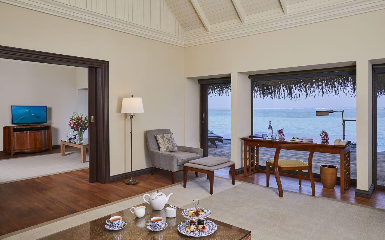 Taj Exotica Resort & Spa Maldives - One Bedroom Ocean Suite with Pool_Living Area
