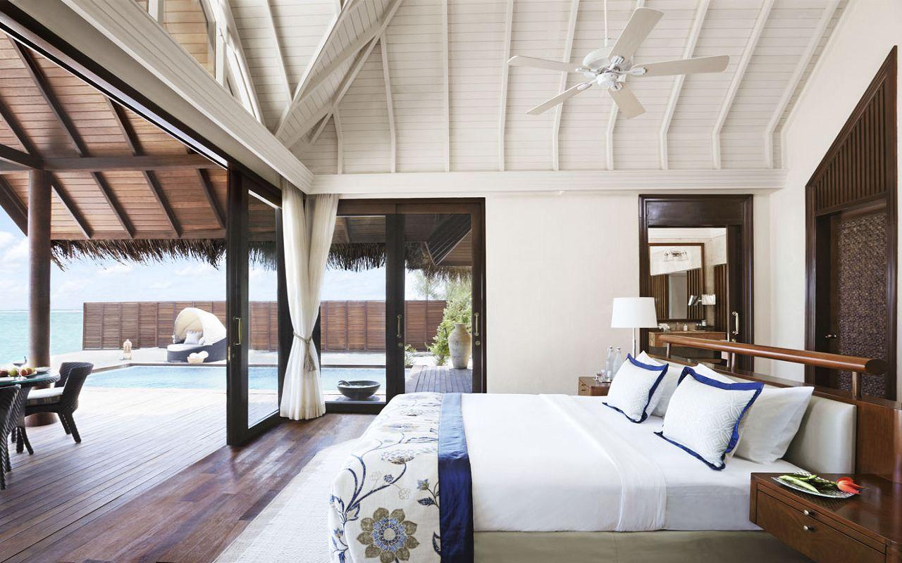 Taj Exotica Resort & Spa Maldives-Premium Villa with Pool_Bedroom