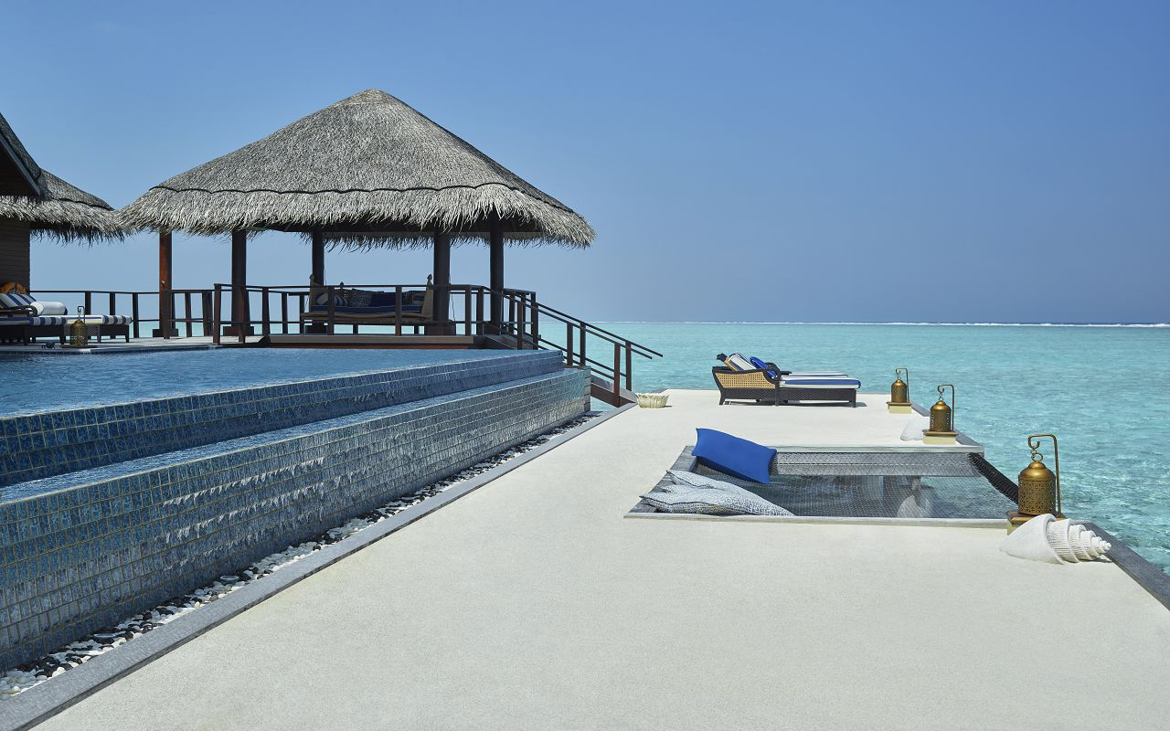 The Rehendi Presidential Overwater Suite with Pool_Sand Deck