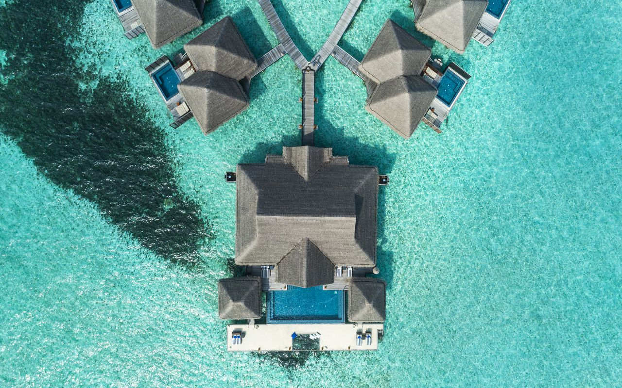 The Rehendi Presidential Suite with Pool - Jetty_Aerial