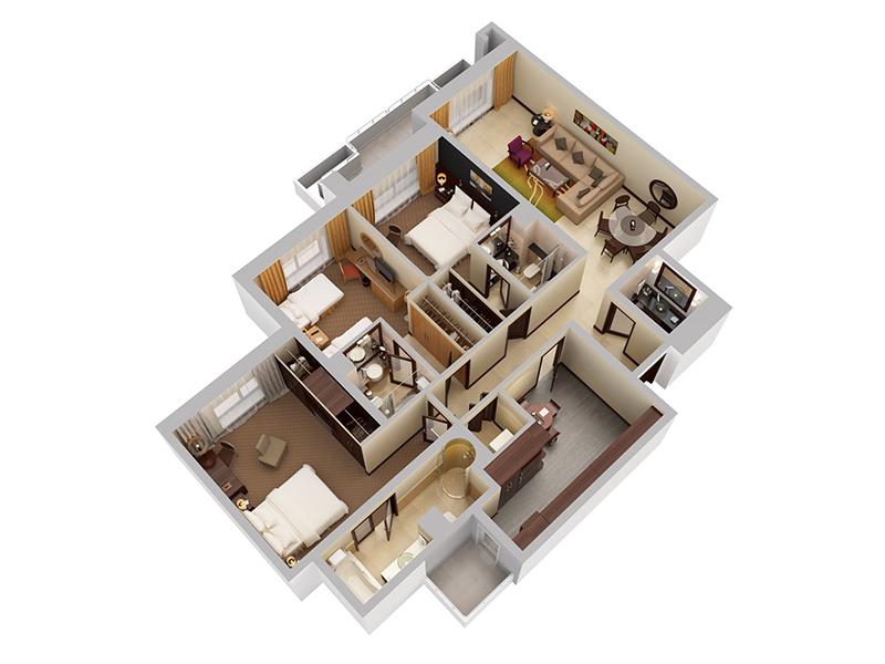 Three Bedroom Apartment9