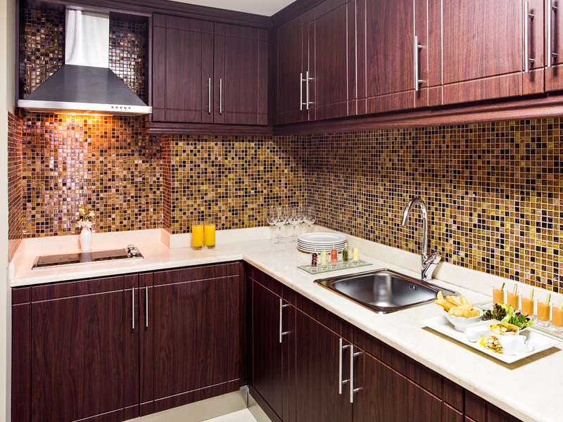 Kitchen - three bedroom suite
