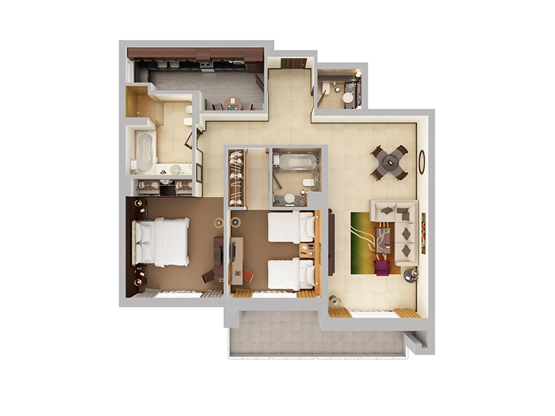 Two Bedroom Apartment4