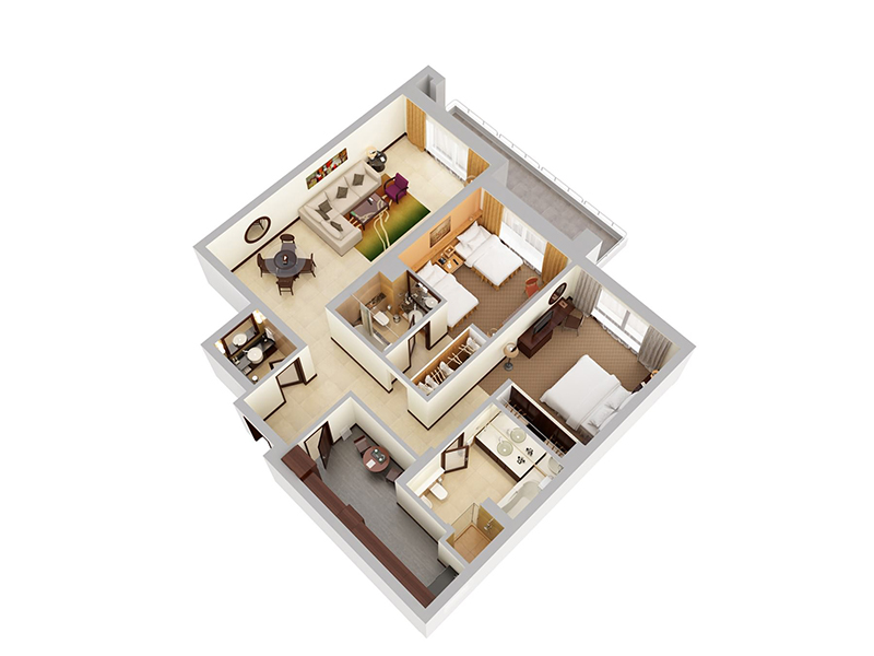 Two Bedroom Apartment5