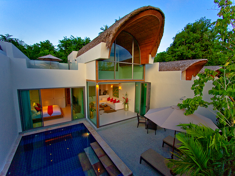 Two Bedroom Modern Pool Villa 1