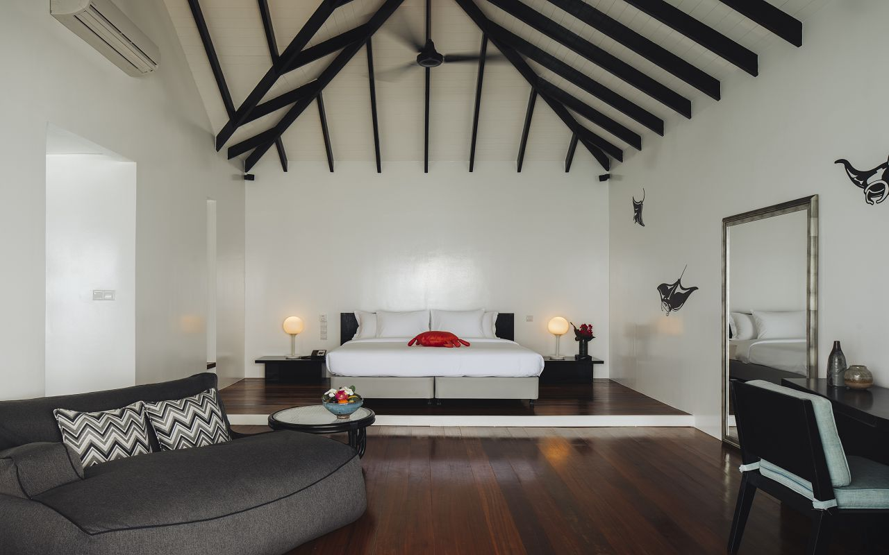Water Pool Villa - Bedroom (1)