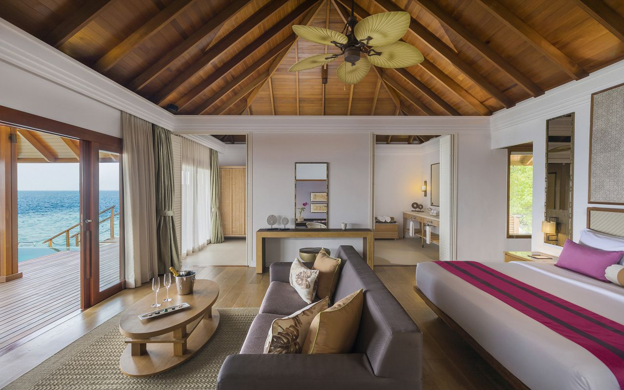 Water Villa with Pool - Bedroom I