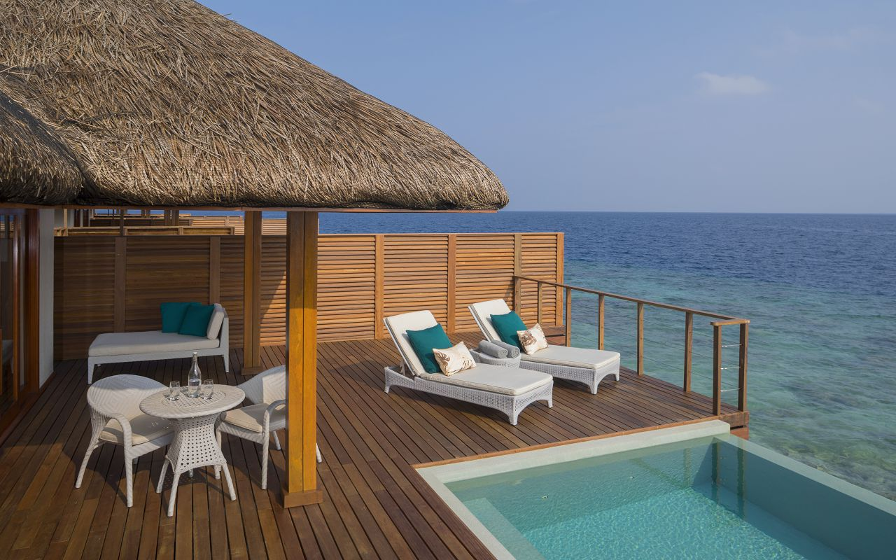 Water Villa with Pool - Deck & Pool