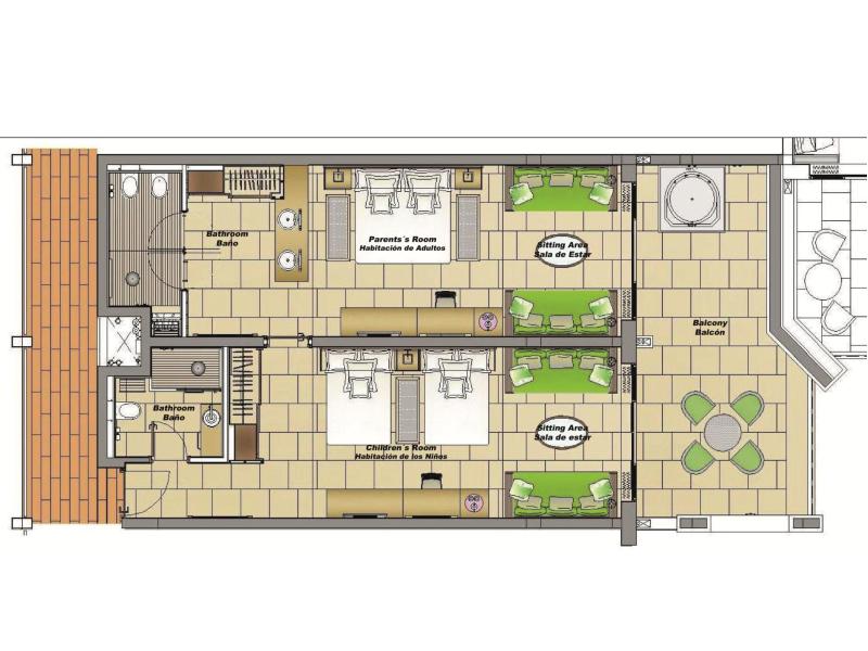family junior suite premium level