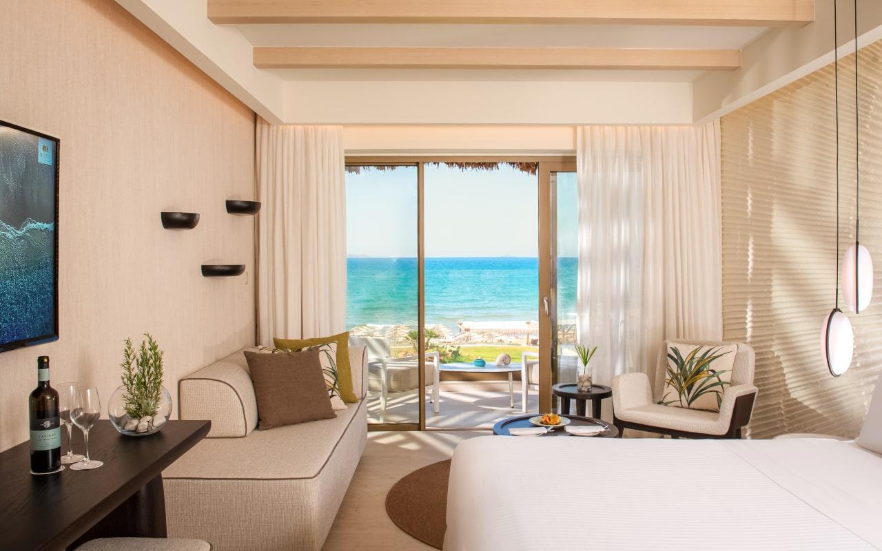 mitsis_crete_rinela_superior rooms_seaview_front row-min