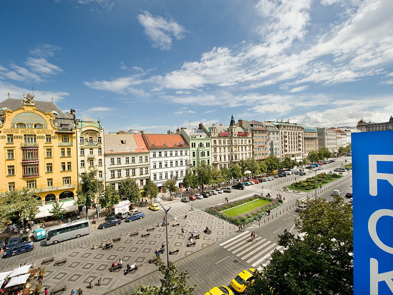 win with a view of Wenceslas Square2