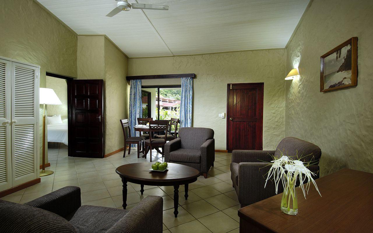 Berjaya-Praslin-Resort-Deluxe Family Room - Living Room Interior