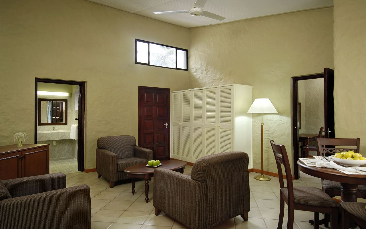Berjaya-Praslin-Resort-Deluxe Family Room - Rest Area