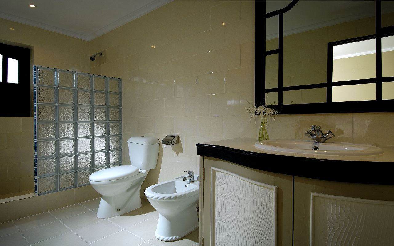 Berjaya-Praslin-Resort-Standard Room - Shower Room