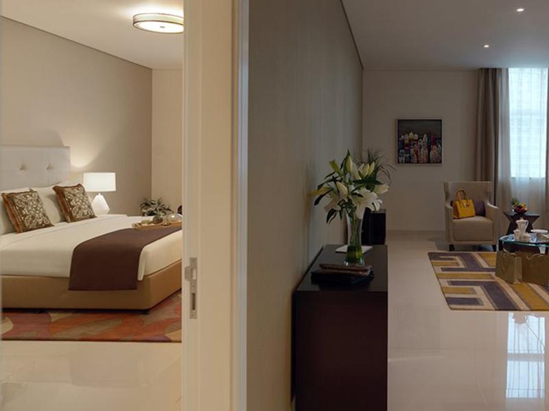 damac maison cour jardin 2 bedroom4