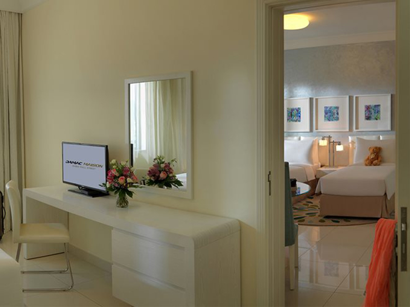 damac maison dubai mall 2 bedroom
