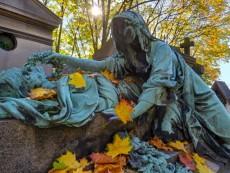 France, Paris, Pere Lachaise cemetery
