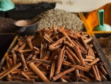 Spices in Market, Stone Town, Unguja, Zanzibar, Tanzania