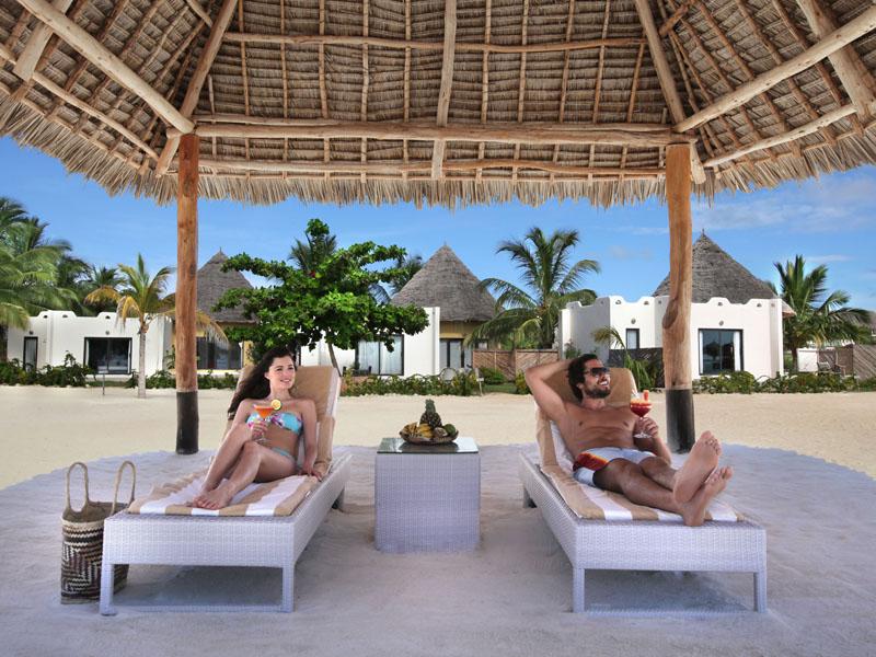 Villa beach pavillion