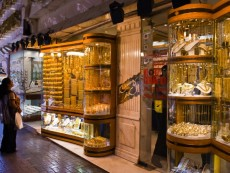 Jewelry store in Dubai's Gold Souk
