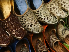 Slippers for Sale at Deira Bazaar