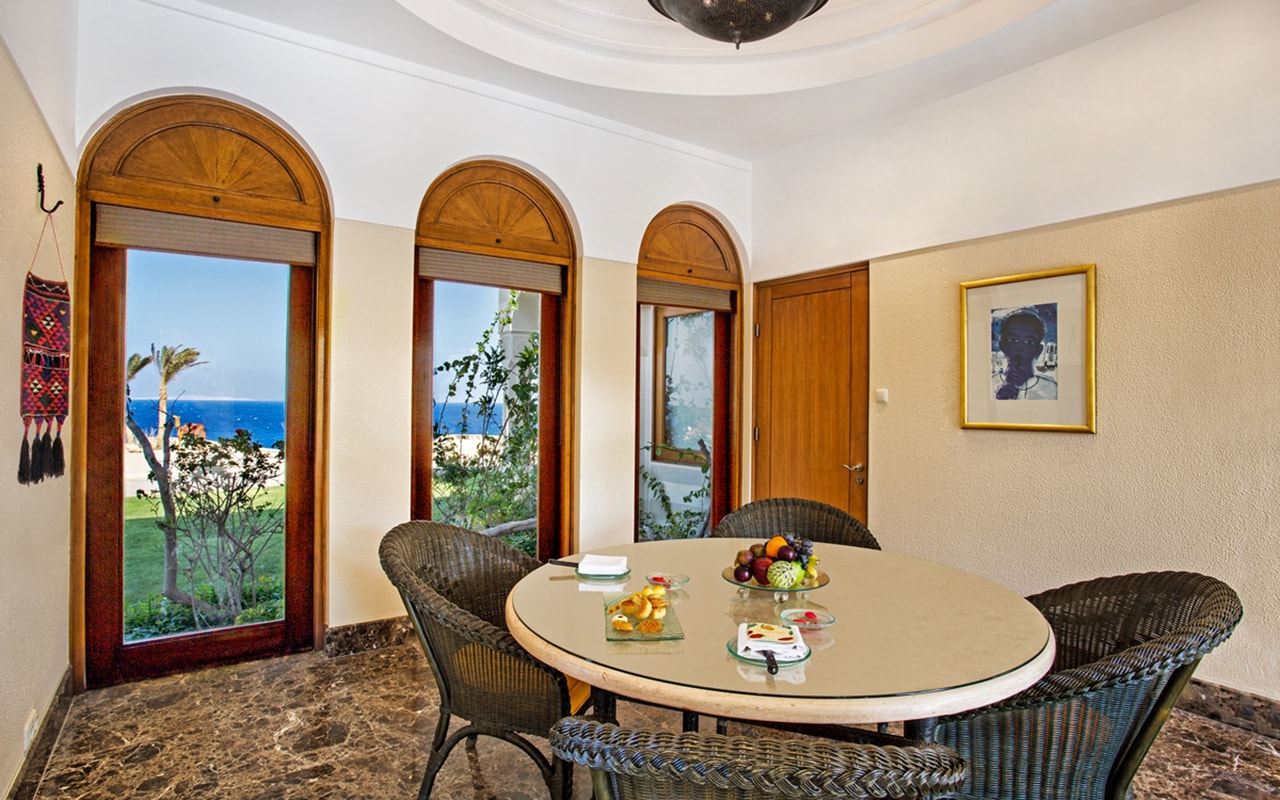Royal Suite Dining Area-min