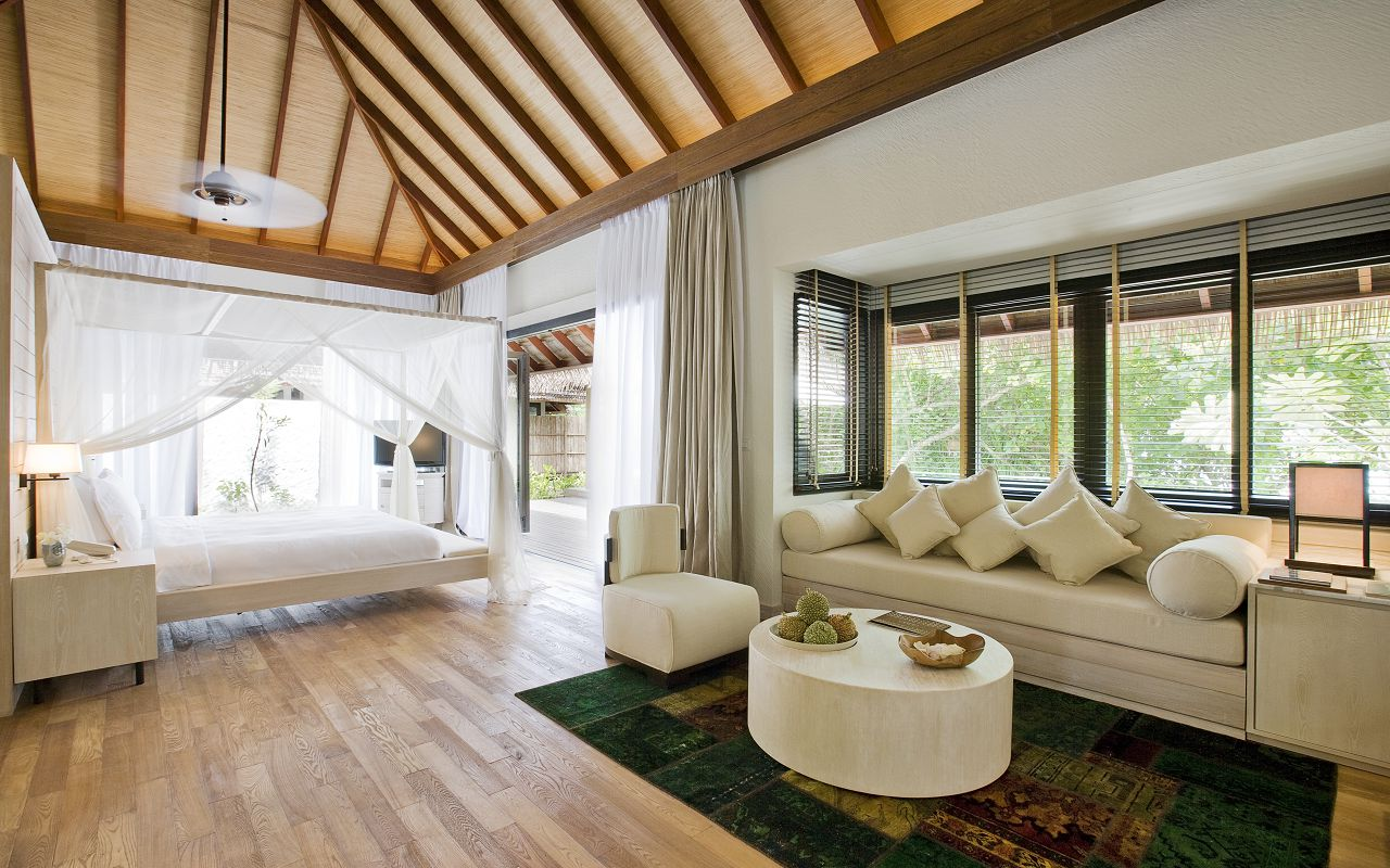 COMO Maalifushi - Beach Suite Living 1