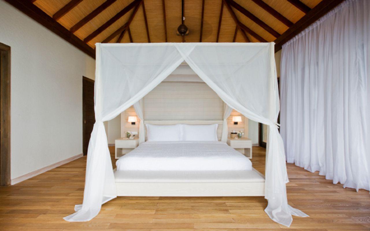 COMO Maalifushi - Garden Villa Bed Cropped