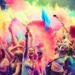 Все краски Шри Ланки на фестивале Холи!