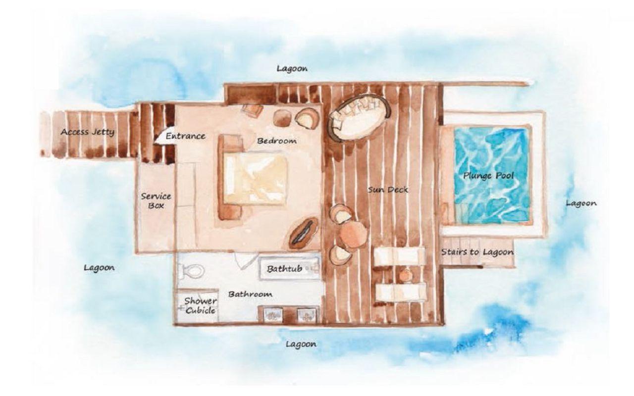 Bodhanfulhu Pool Water Villa