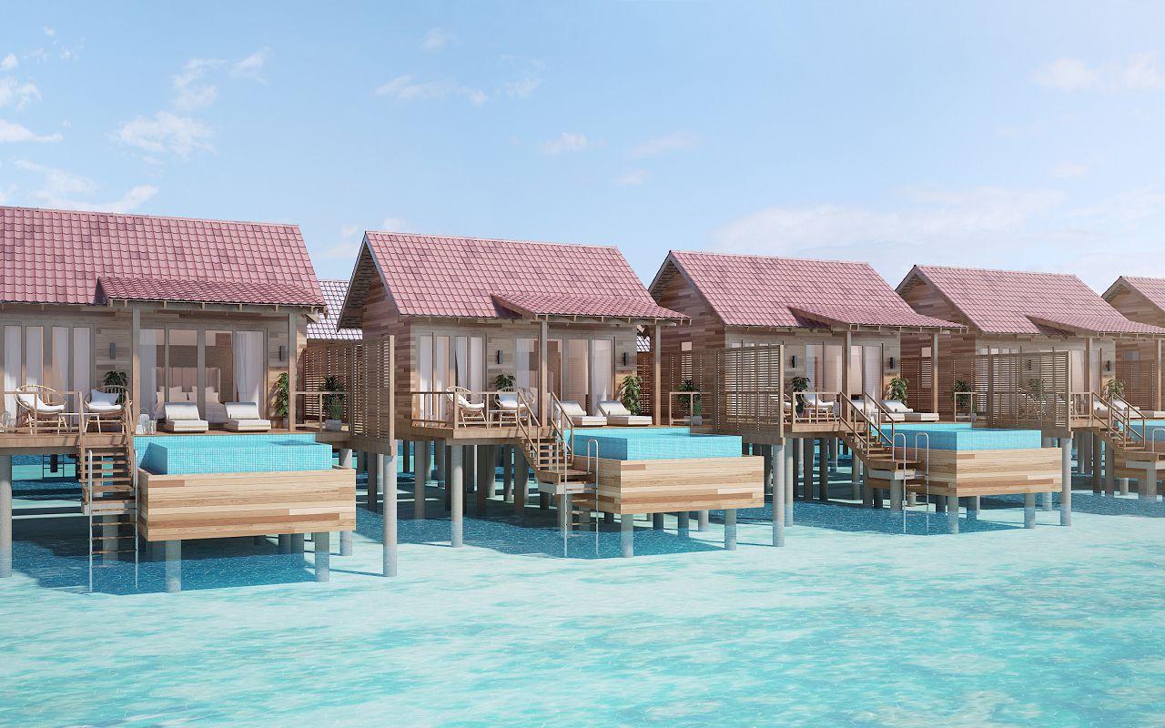 Pool Water Villa - 1