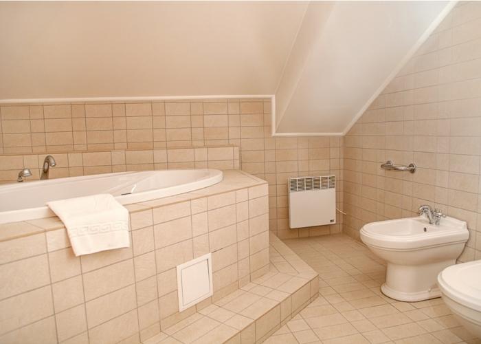 bathroom полулюкс мансарда