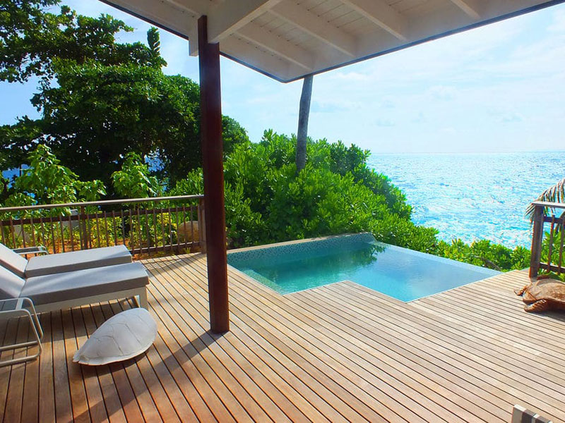 Oceanview Chalets-pool6