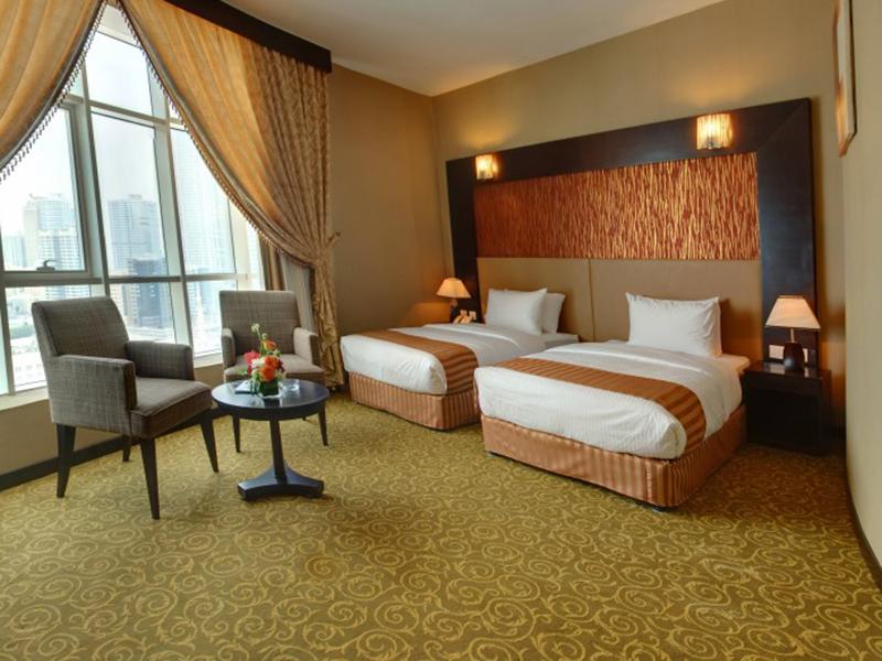 Al Qasba Twin Room
