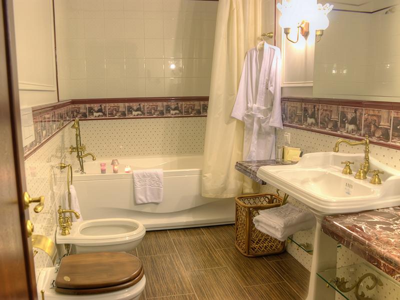 люкс премиум в англ стиле ванная