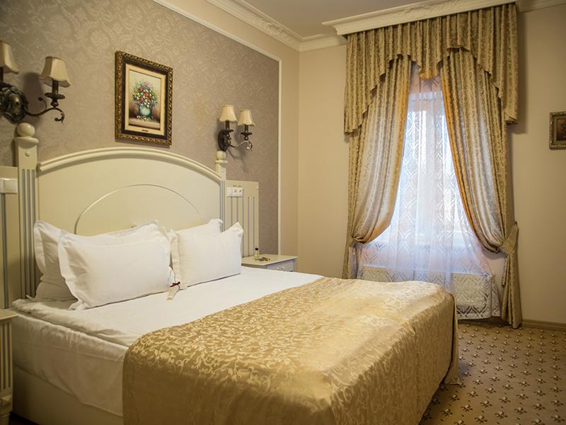 люкс с двумя спальнями и камином 5
