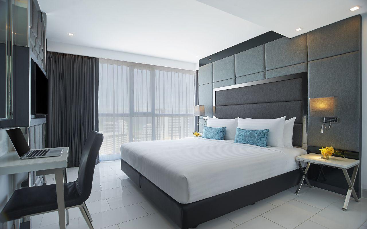 Amari Residences Pattaya_One Bedroom Corner Suite Ocean Facing King